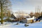 Lathum Bandijk winter boerderij