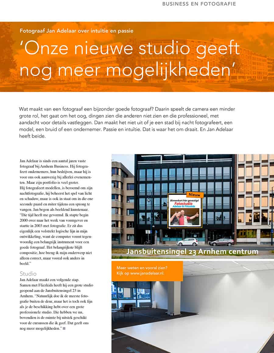 fotostudio Adelaar-in-arnhem-business