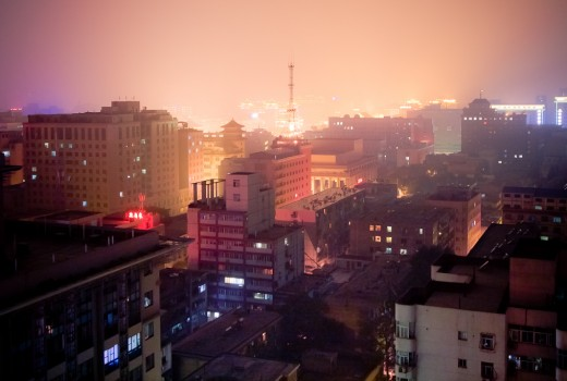 Hangzhou by night