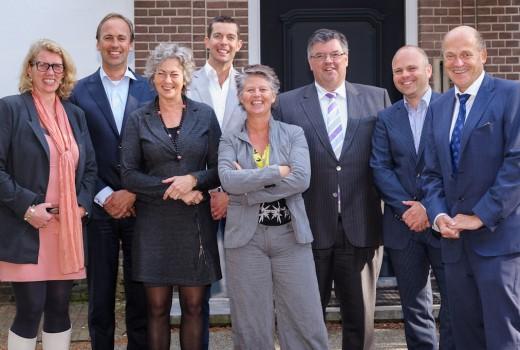 Burgemeester Bruls Nijmegen te gast bij villa klein heumen