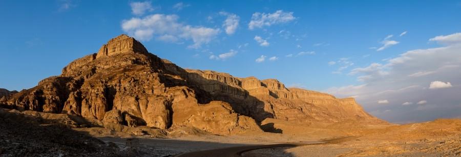 Timna-park-sunset-panoramas-van-de-woestijn
