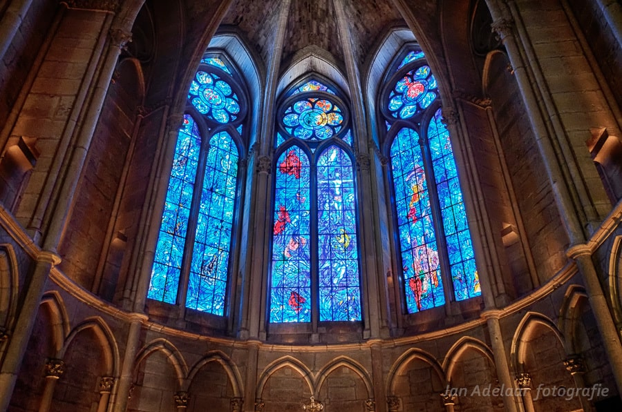 NotreDame Reims en Verdun - Jan Adelaar Fotografie Chagall Glas In Lood