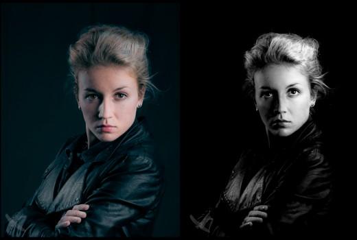 Vintage portret
