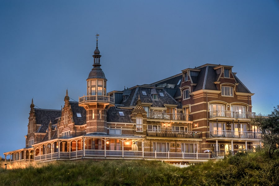 Badhotel Domburg schemering