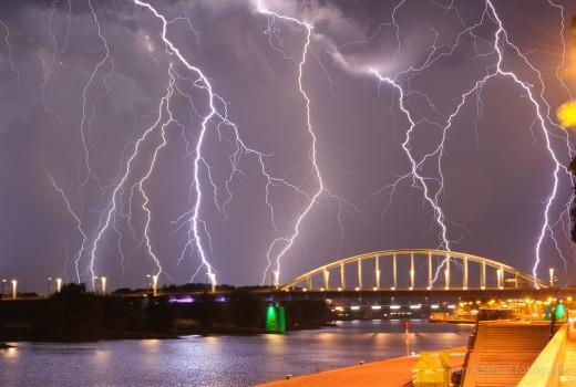 Onweer Arnhem
