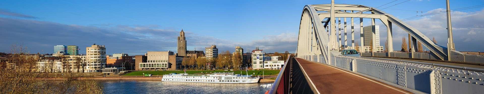 Arnhem Rijnkade panorama