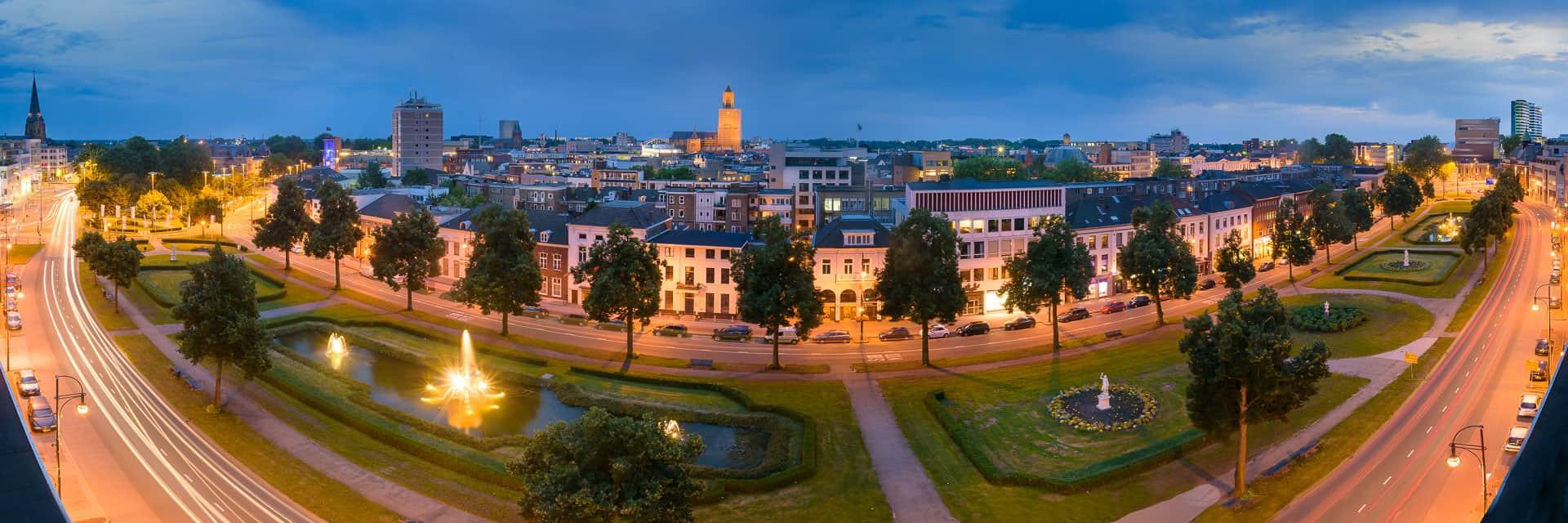 Arnhem panorama Jansbuitensingel